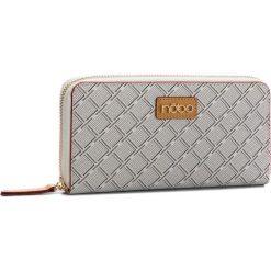Duży Portfel Damski NOBO - NPUR-F0080-C000 Biały. Białe portfele damskie Nobo, ze skóry ekologicznej. W wyprzedaży za 99.00 zł.