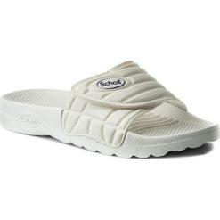 Klapki SCHOLL - Nautilus F24354 1065 360 White. Białe klapki męskie Scholl, ze skóry ekologicznej. Za 125.00 zł.