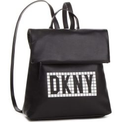 Plecak DKNY - Tilly Md Backpack Tile R83KQ350 Blw/Blk/Wht. Czarne plecaki damskie DKNY, ze skóry ekologicznej, eleganckie. Za 849.00 zł.