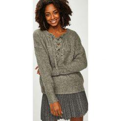 Answear - Sweter. Szare swetry damskie ANSWEAR, z dzianiny. Za 169.90 zł.
