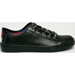 Tommy Jeans - Buty. Czarne obuwie sportowe damskie Tommy Jeans, z jeansu. Za 399.90 zł.