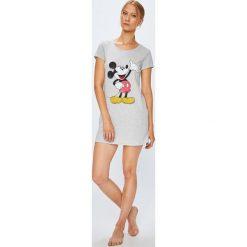 Etam - Koszula nocna Steven. Szare koszule nocne damskie Etam, z nadrukiem, z bawełny. W wyprzedaży za 69.90 zł.