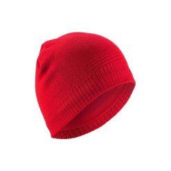 Czapka PURE. Czerwone czapki i kapelusze damskie WED'ZE. Za 29.99 zł.