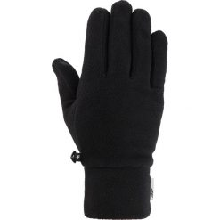 Rękawiczki polarowe uniseks REU302 - głęboka czerń. Rękawiczki damskie marki B'TWIN. Za 34.99 zł.