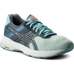 Buty ASICS - Gel Phoenix 9 T872N Porcelain Blue/Silver/Flash Coral 1493. Niebieskie obuwie sportowe damskie Asics, z gumy. W wyprzedaży za 279.00 zł.