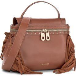 Torebka TWINSET - Cecile Deux OS8TGA Cuoio 00057. Brązowe torebki do ręki damskie Twinset, ze skóry. W wyprzedaży za 839.00 zł.