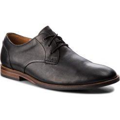 Półbuty CLARKS - Broyd Walk 261238607 Black Leather. Eleganckie półbuty Clarks, z materiału. W wyprzedaży za 249.00 zł.