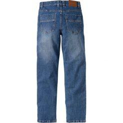 Dżinsy ze stretchem Regular Fit Straight bonprix niebieski. Jeansy męskie marki bonprix. Za 79.99 zł.
