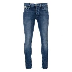 Pepe Jeans Jeansy Męskie Track 33/32 Niebieski. Niebieskie jeansy męskie Pepe Jeans. W wyprzedaży za 399.00 zł.