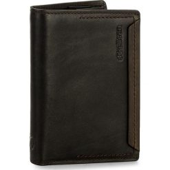 Duży Portfel Męski STRELLSON - Camden 4010002294 Dark Brown 702. Brązowe portfele męskie Strellson, ze skóry. W wyprzedaży za 169.00 zł.