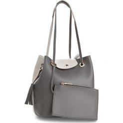 Torebka MONNARI - BAGA610-019  Grey. Szare torebki do ręki damskie Monnari, ze skóry ekologicznej. W wyprzedaży za 129.00 zł.