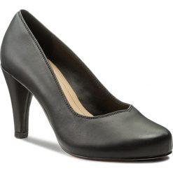 Półbuty CLARKS - Dalia Rose 261322614 Black Leather. Półbuty damskie marki Clarks. W wyprzedaży za 269.00 zł.