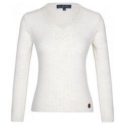 Paul Parker Sweter Damski L Biały. Białe swetry damskie Paul Parker, z wełny. Za 159.00 zł.