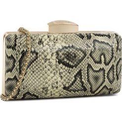 Torebka KAZAR - Brenta 30074-L2-36 Beżowy. Brązowe torebki do ręki damskie Kazar, z aplikacjami, z lakierowanej skóry. W wyprzedaży za 299.00 zł.