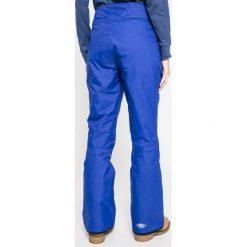 Columbia - Spodnie snowboardowe On the Slope. Brązowe spodnie materiałowe damskie Columbia, z materiału. W wyprzedaży za 299.90 zł.