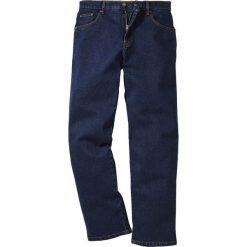 Dżinsy Classic Fit Straight bonprix ciemnoniebieski. Jeansy męskie marki bonprix. Za 89.99 zł.