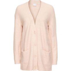 Sweter rozpinany oversize bonprix dymny różowy melanż. Kardigany damskie marki MAKE ME BIO. Za 89.99 zł.