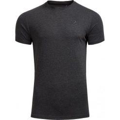 T-shirt męski TSM600 - CIEMNY SZARY MELANŻ - Outhorn. Szare t-shirty męskie Outhorn, na jesień, melanż, z bawełny. W wyprzedaży za 20.99 zł.