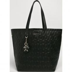 Versace Jeans - Torebka. Czarne torby na ramię damskie Versace Jeans. Za 899.90 zł.