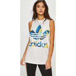 Adidas Originals - Top. Szare topy damskie adidas Originals, bez rękawów. W wyprzedaży za 119.90 zł.