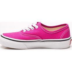 Vans - Tenisówki dziecięce. Buty sportowe dziewczęce Vans, z materiału. W wyprzedaży za 129.90 zł.