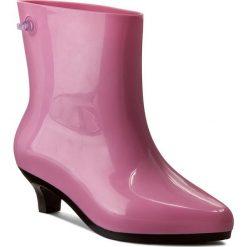Kalosze MELISSA - Ankle Boot + Jeremy Sc 31916 Pink/Black 52208. Czerwone kozaki damskie Melissa, z tworzywa sztucznego. W wyprzedaży za 469.00 zł.