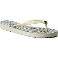 7f3f620c5 Japonki TORY BURCH - Thin Flip Flop 37149 Perfect Ivory Octagon Sq 116.  Klapki