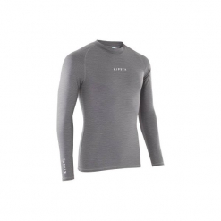 Koszulka termoaktywna długi rękaw Keepdry 100. Niebieskie koszulki sportowe męskie KIPSTA, z elastanu, z długim rękawem. Za 29.99 zł.