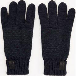 Rękawiczki - Granatowy. Rękawiczki męskie marki FOUGANZA. W wyprzedaży za 29.99 zł.