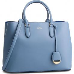 Torebka LAUREN RALPH LAUREN - Dryden 431697680012 Blue Mist. Niebieskie torebki do ręki damskie Lauren Ralph Lauren, ze skóry. Za 1,519.00 zł.