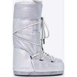 Moon Boot - Śniegowce Classic Plus. Szare śniegowce i trapery damskie Moon Boot. Za 479.90 zł.