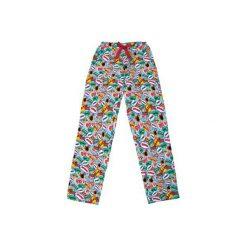BASHFUL Boom Boom - Spodnie od piżamy. Szare piżamy damskie Meet the llama, z nadrukiem, z bawełny. Za 99.00 zł.