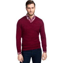 Sweter FABRIZIO SWAR000180. Swetry przez głowę męskie marki Giacomo Conti. Za 229.00 zł.