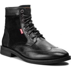 Kozaki LEVI'S - 228738-1700-59 Regular Black. Czarne kozaki męskie Levi's, z materiału. W wyprzedaży za 369.00 zł.