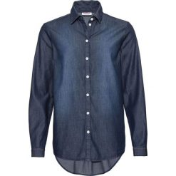 Koszula dżinsowa, luźniejszy fason, długi rękaw bonprix ciemnoniebieski. Koszule damskie marki SOLOGNAC. Za 59.99 zł.