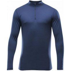 Devold Koszulka Męska Breeze Man Half Zip Neck Mistral M. Niebieskie koszulki sportowe męskie Devold, na jesień, z materiału, z długim rękawem. W wyprzedaży za 249.00 zł.