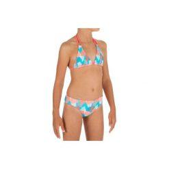 Kostium 2cz TALOO CALI JR. Brązowe stroje kąpielowe dla dziewczynek OLAIAN. W wyprzedaży za 14.99 zł.