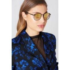 Le Specs Okulary przeciwsłoneczne Neptune - Black,Gold. Czarne okulary przeciwsłoneczne damskie Le Specs. W wyprzedaży za 91.19 zł.