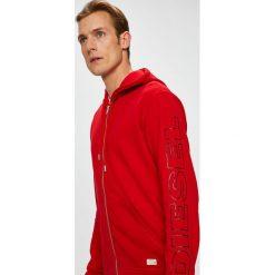 Diesel - Bluza. Czerwone bluzy męskie Diesel, z nadrukiem, z bawełny. Za 359.90 zł.