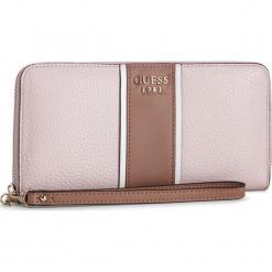 Duży Portfel Damski GUESS - SWSG71 71460 MCA. Czerwone portfele damskie Guess, z aplikacjami, ze skóry ekologicznej. Za 279.00 zł.