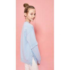 Bluza z falbankami - Niebieski. Bluzy dla niemowląt Reserved. W wyprzedaży za 29.99 zł.