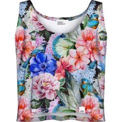 Colour Pleasure Koszulka damska CP-035 191 zielono-czerwona r. XXXL-XXXXL. T-shirty damskie Colour Pleasure. Za 64.14 zł.