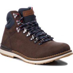 Trapery TOMMY HILFIGER - Outdoor Hiking Detail Boot FM0FM01755  Coffee 211. Brązowe śniegowce i trapery męskie Tommy Hilfiger, z materiału. Za 649.00 zł.