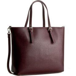 Torebka CREOLE - K10337 Bordowy. Czerwone torebki do ręki damskie Creole, ze skóry. W wyprzedaży za 259.00 zł.