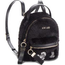 Plecak LIU JO - S Backpack Brentas N68066 E0412 Nero 22222. Czarne plecaki damskie Liu Jo, z materiału. Za 469.00 zł.