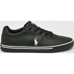 Polo Ralph Lauren - Buty. Czarne buty sportowe męskie Polo Ralph Lauren, z gumy. Za 429.90 zł.
