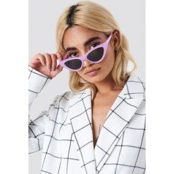 NA-KD Accessories Okulary przeciwsłoneczne Pointy Cat Eye - Purple. Fioletowe okulary przeciwsłoneczne damskie NA-KD Accessories. W wyprzedaży za 30.48 zł.