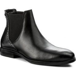 Sztyblety BADURA - 5265-F Czarny 147. Czarne botki męskie Badura, ze skóry. W wyprzedaży za 309.00 zł.