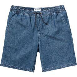 Lekkie szorty dżinsowe Regular Fit bonprix niebieski. Niebieskie szorty męskie bonprix, z jeansu. Za 89.99 zł.