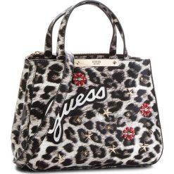 Torebka GUESS - HWLG66 93050  LEO. Czarne torebki do ręki damskie Guess, ze skóry ekologicznej. Za 629.00 zł.